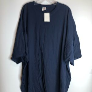 NWT Fruit of the Loom Oversized Tee 6X PLUS SIZE